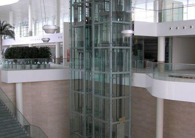 Acristalamiento en la Terminal de COSTA CRUCEROS